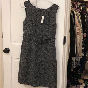 Never worn black marbled professional shift dress
